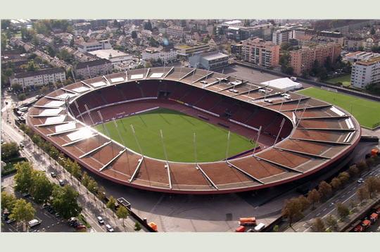 Les stades de l'Euro 2008