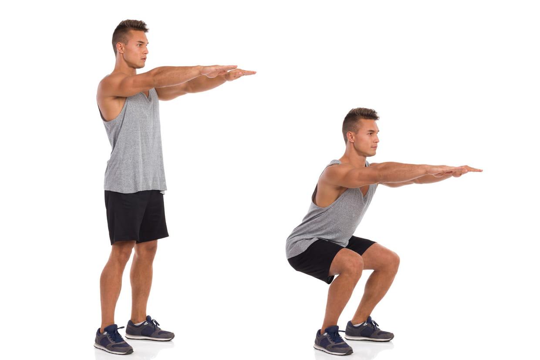 Squats Fessiers Cuisses Les Exercices De Base