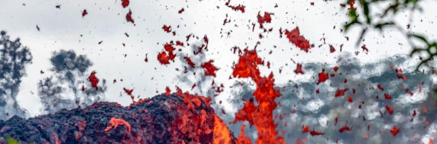Les images de l'éruption du volcan Kilauea à Hawaï