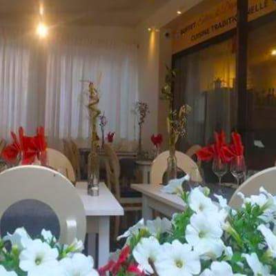 Restaurant : Aux 2 Fontaines  - Salle restaurant aux 2 Fontaines -   © Aux 2 Fontaines