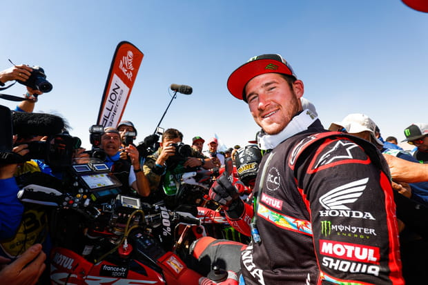 Ricky Brabec remporte son premier Dakar