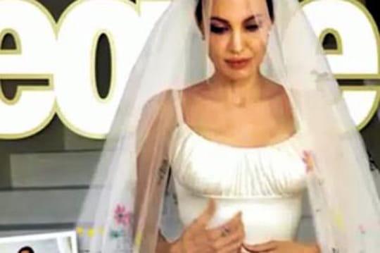 Angelina Jolie: la robe, les enfants, lebisou du mariage