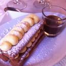 Dessert : La Toque des Coevrons  - Millefeuilles de gavottes à la vanille et son caramel beurre demi-sel -