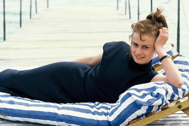 Sandrine Bonnaire à Cannes en 1985