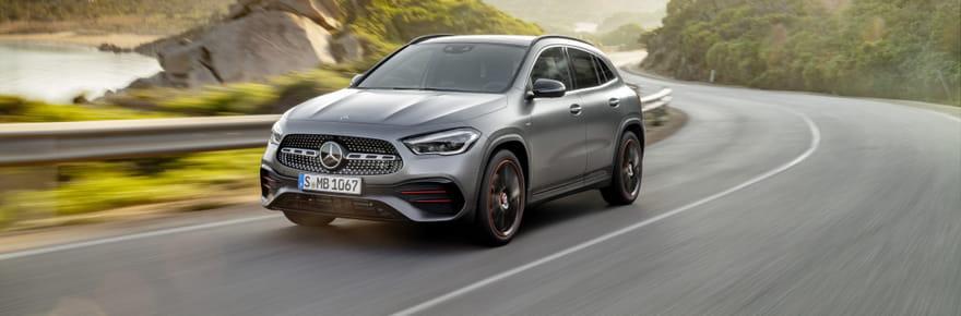 Les photos du nouveau Mercedes GLA
