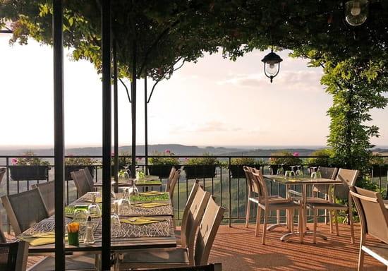 Le P'tit Castel  - Terrasse panoramique -