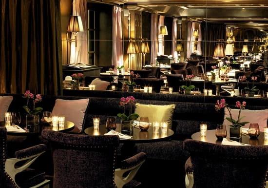 Le First, restaurant Boudoir Paris  - designer Jacques Garcia -   © The Westin Paris
