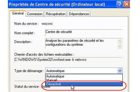 Restauration Windows Xp Commande Executer