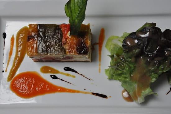La Renaissance  - Pressé de Légumes d'été au caillé de Chèvre -   © I. Faiseau