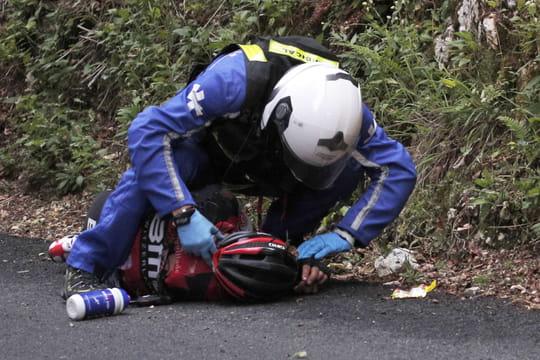 Chute de Porte[TOUR DE FRANCE]: les images de l'accident en vidéo