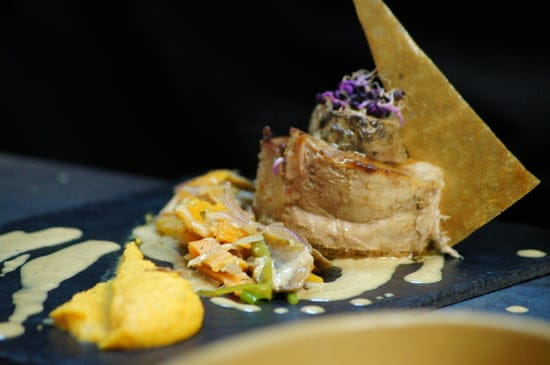 "L'ARTI Restaurant - Tignes  - Filet mignon de veau ""Coeur de Homard"" -   © L'ARTI, Restaurant de Montagne"