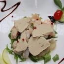 Le Sorrento  - carpaccio st jacques et pépites foie gras -
