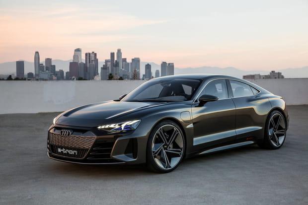 Un concept car entièrement électrique dévoilé à Los Angeles