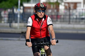 A vélo, 80ans après la Shoah, il revit l'échappée d'Allemagne
