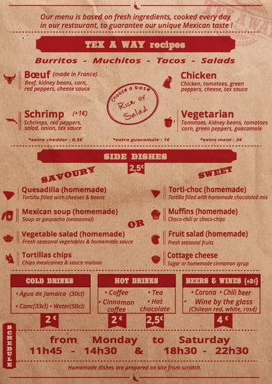 Restaurant : Tex A Way   © #TEXAWAYOFLIFE