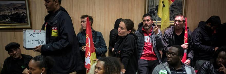 SNCF: les cheminots se prononcent massivement contre la réforme qui arrive au Sénat