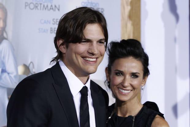 Demi Moore et Ashton Kutcher, séparés par une fausse couche?