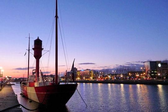 Escale au port du Havre
