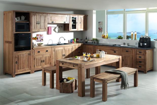 Une cuisine ouverte avec un maximum de placards for Cuisine ouverte qui se cache