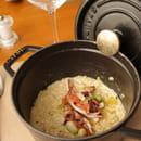 La Table des Baous - ex le Chantegrill  - Risotto en cocotte en fonte -