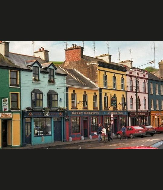 Les rues de Cork