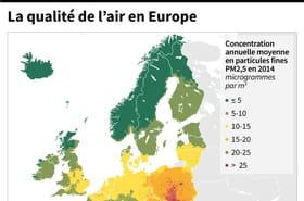 Qualité de l'air: Bruxelles renvoie 6pays dont la France et l'Allemagne devant la justice