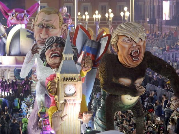 La 134e édition du Carnaval de Nice en images