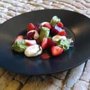 Restaurant la Couleuvrine  - Dessert Betterave été 2016 -   © La Couleuvrine