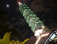 Les défis de la construction : La Tour 101 de Taipei