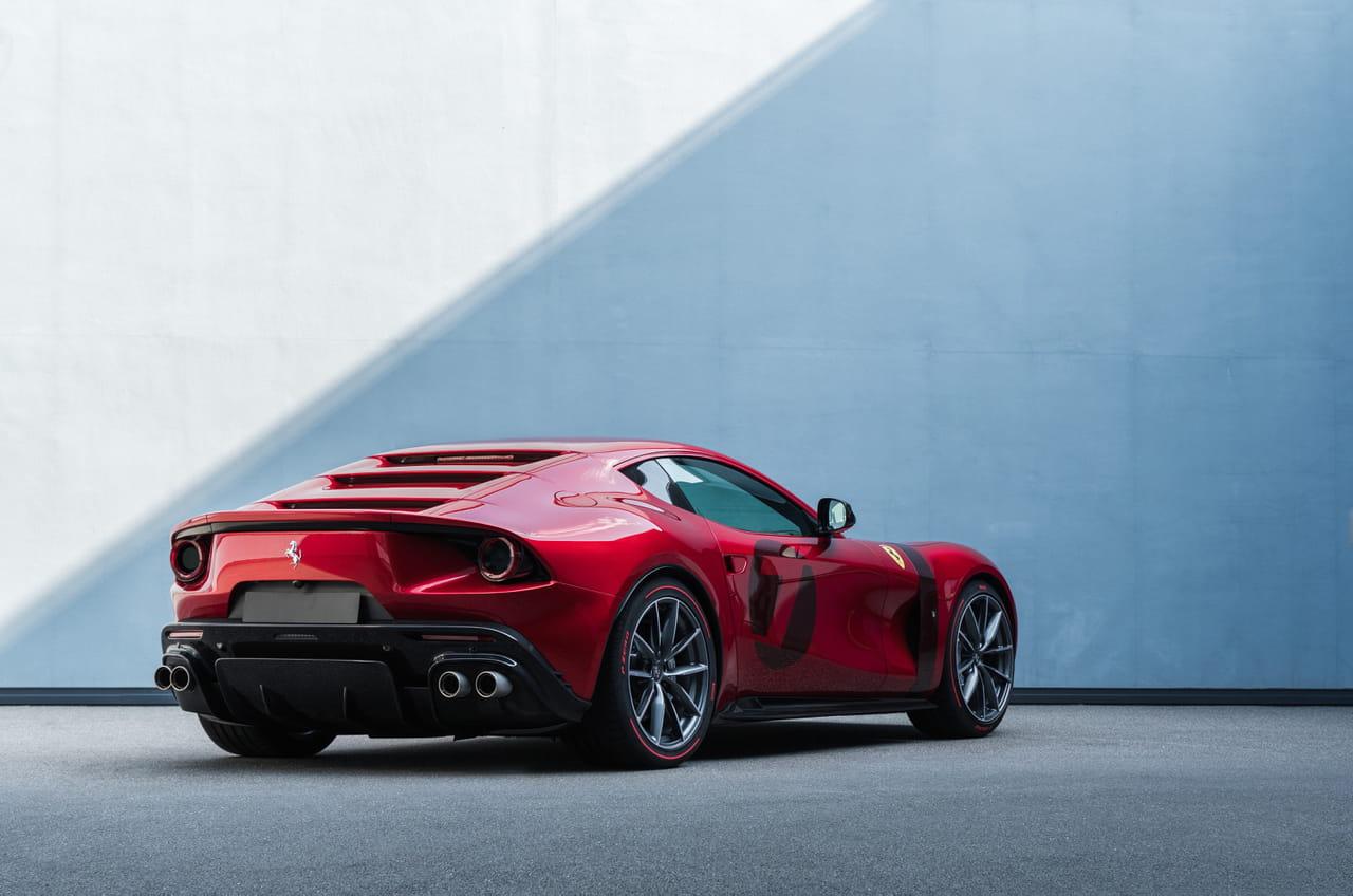 Ferrari Omologata: un modèle unique dévoilé, les photos