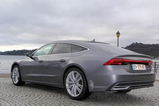 Audi A7Sportback: l'essai de la berline-coupé tendance