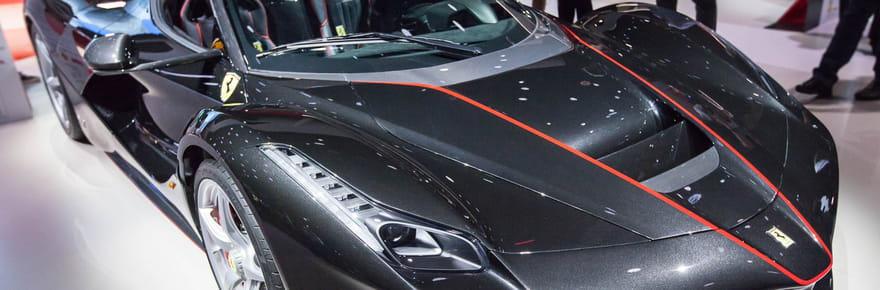 Ferrari Aperta: quelle est la nouvelle Ferrari dévoilée au Mondial de l'Auto?