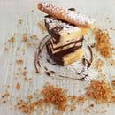 Dessert : Costa d'Amalfi  - Terrine amandes & chocolat amer -   © @ Restaurant Costa d'Amalfi
