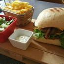 Plat : Le Somail  - Burger Maison  -