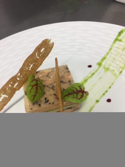 Entrée : La Pommeraie  - Cubisme de Foie Gras d'Oie -   © non