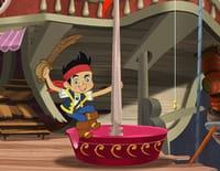Jake et les pirates du pays imaginaire : Jake le livreur. - La course d'hippocampes