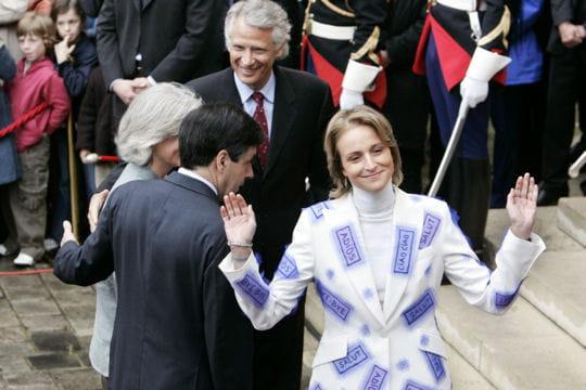 Dominique et Marie-Laure de Villepin, récemment séparés