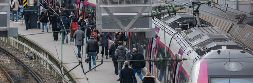 Grève SNCF: perturbations sur les RER et Transilien