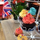 London Café Ajaccio  - cup cakes -   © nicole raybier