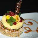 Dessert : Le Chai de Fages  - Dessert autour de la pistache -   © Chai de Fages