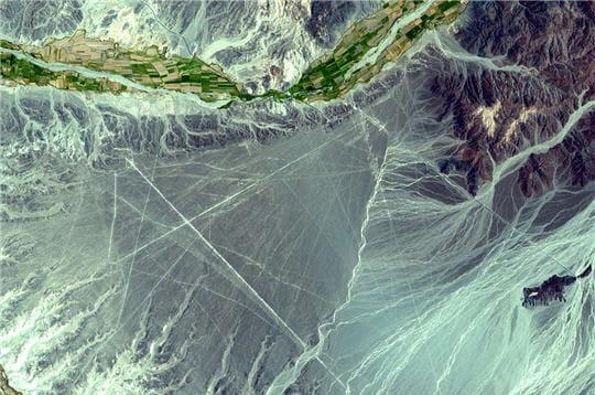 Glacier péruvien