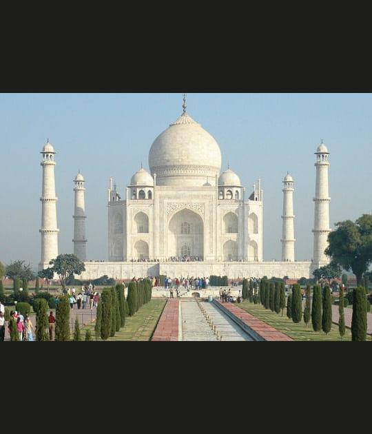 Le Taj Mahal, la perle blanche de l'Inde