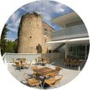 Hostellerie du Château Semens  - Notre terrasse -