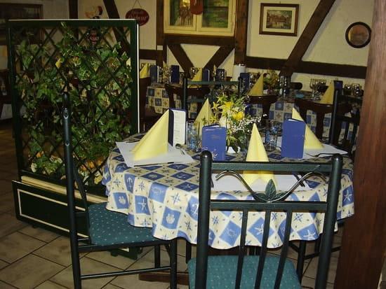 Restaurant A l'Ancre  - Vue de la salle -   © Hamm B