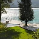 Auberge du Père Bise  - La terrasse avec vue sur le lac -   © Auberge du Père Bise