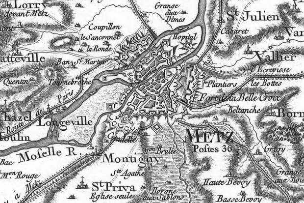 Metz au XVIIIe siècle