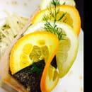 Restaurant : Le Bistrot de la Cathédrale  - Mon pavé de saumon et céleri poêlé -