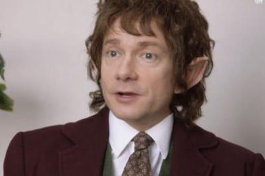 Le Hobbit: Martin Freeman parodie la série The Office [VIDEO]