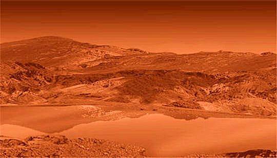 Présence liquide sur Titan