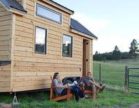 Tiny House : mini-maison à emporter : Jamais sans mon dressing